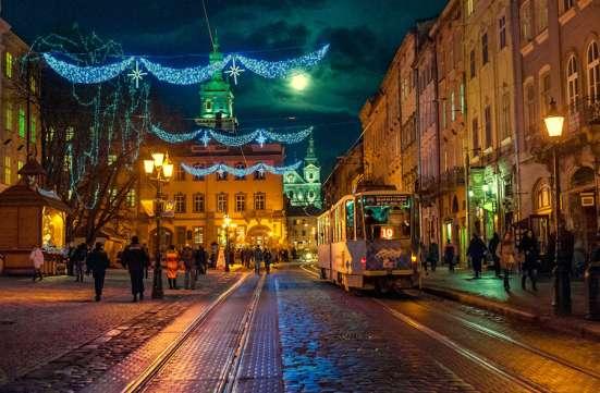 Новий Рік у Львові!