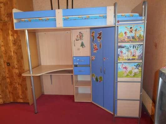 Детская кровать-чердак для школькика в Москве Фото 1