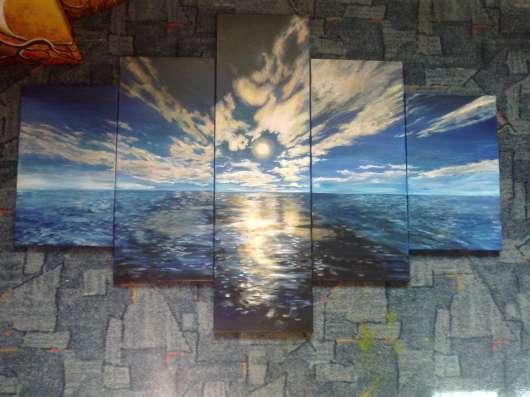 Картины любых форм и размеров, роспись стен,декор.штукатурка