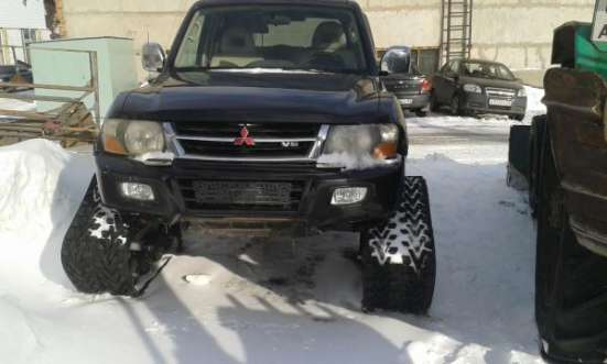 Снегоболотоход на базе Паджеро
