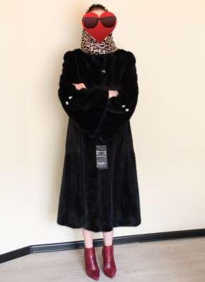 Роскошная норковая шуба р-р 50. Новая, с чехлом в Красноярске Фото 1