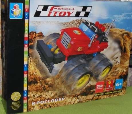 Кроссовер Пластиковый Конструктор Formula 1 с резиновыми кол