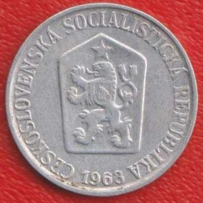 Чехословакия 5 геллеров 1963 г. в Орле Фото 1