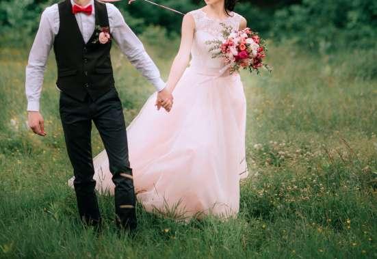 Свадебное платье пудрового цвета в г. Гомель Фото 1