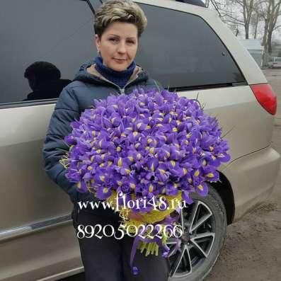 В Липецке 101 роза Фото 1