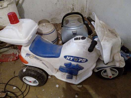 Детский электро-мотоцикл. На 3-6 лет