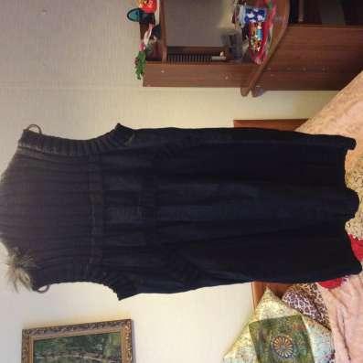 Платье - туника с мехом в Москве Фото 2