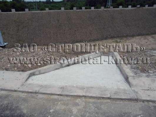 Блок бетонный Б-5, дорожного водоотвода в Пятигорске Фото 5