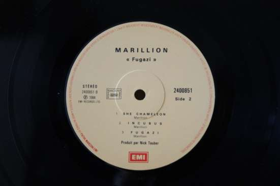 MARILLION-1984/1987 Made In W. Germany/France