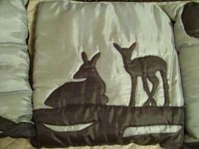 Наборчик из настенного панно и подушки