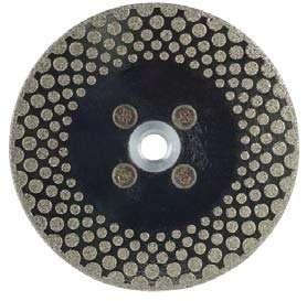 Круг алмазный (EDLB40C125) для резки и шлифовки мрамора М14 диам. 125мм