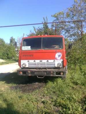 КАМАЗ 5410 на ходу