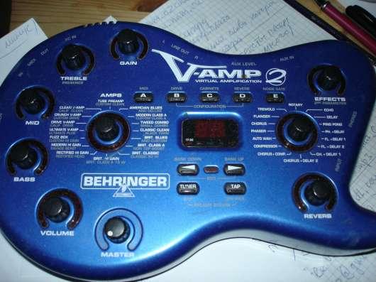 Гитарная педаль эффектов vamp-2