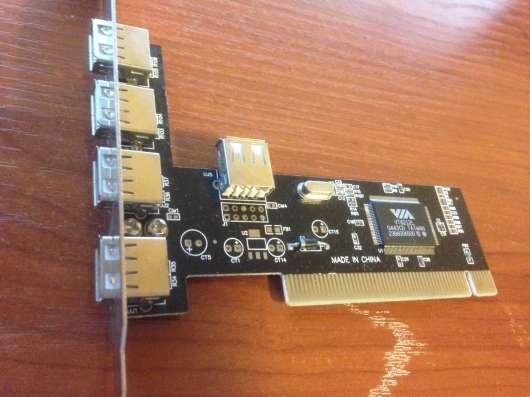 USB контроллер для системного блока VIA VT6212L