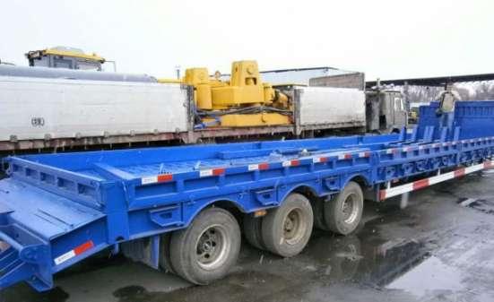 Полуприцеп трал CIMC г/п 60 тонн
