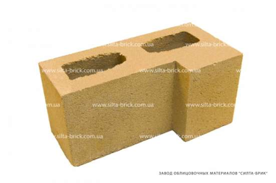 Блок угловой «Силта-Брик»