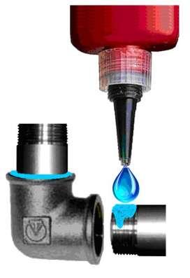 Клей анаэробный для фиксации и герметизации резьбы