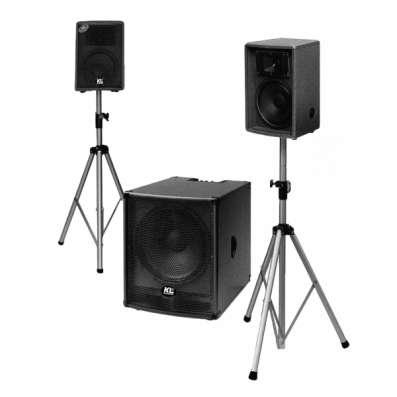 Подбор и инсталляция светового и звукового оборудования