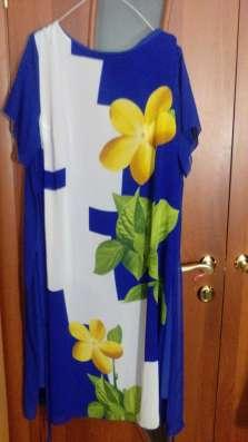 Продам платье летнее нарядное 58 размера и юбку 62 размера в Москве Фото 2