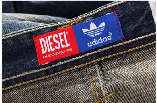 Мужские джинсы, DIESEL совместно с ADIDAS ! в Владивостоке Фото 5