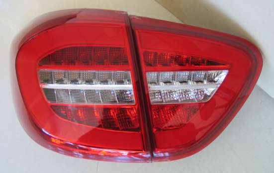 Тюнинг фонари задняя оптика Renault Captur
