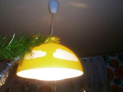 освещение для детской из ИКЕА