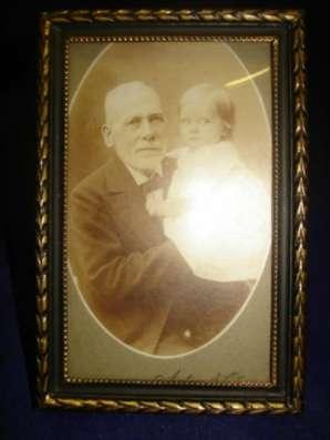 старинная рамка для фото со стеклом