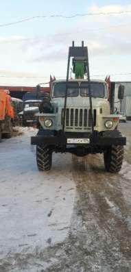 грузовой автомобиль УРАЛ лесовоз с роспуском