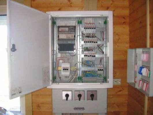 Электромонтажные работы, электрик на дом