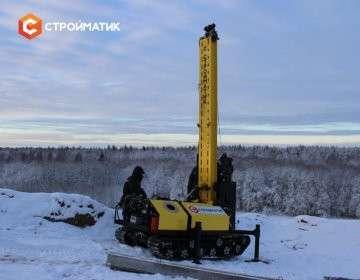 Мобильная сваебойная установка «Стройматик СГК-200»