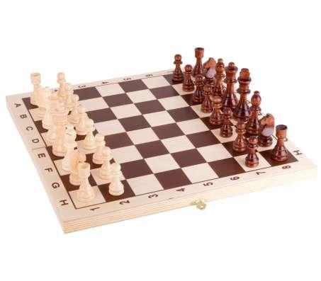 Шахматы лакированные Обиходные 290х145х38 новые с доставкой в Волгограде Фото 1
