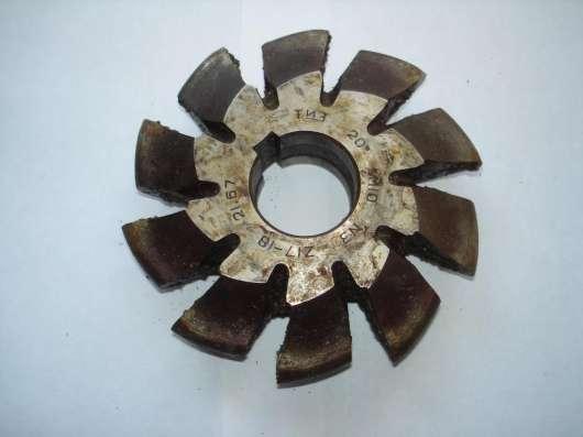 Фреза дисковая модульная М10 №6 20°, №3 20° Z17-18