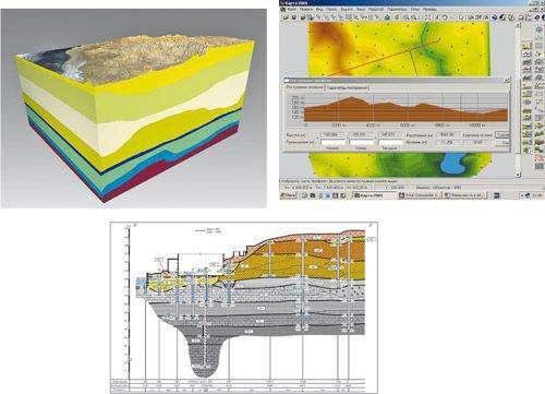Архивные материалы по инженерно-геологическим изысканиям для строительства