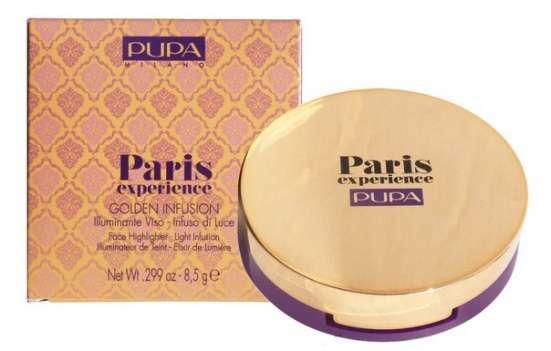 Компактная золотистая пудра для лица Pupa Paris 340 руб. :)