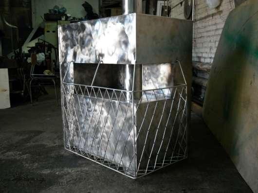 Печь из нержавеющей стали в Бердске Фото 3