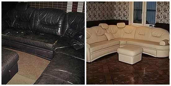 Ремонт и перетяжка мебели в Москве Фото 1