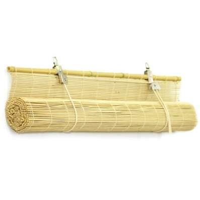 Штора рулонная из бамбука