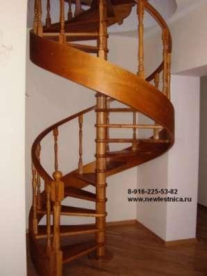 Красивые лестницы для дома, коттеджа Новая Лестница в Орехово-Зуево Фото 1