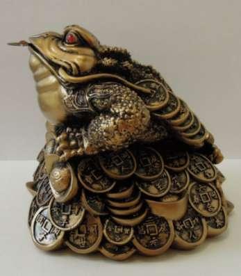 Большая жаба Фэн-шуй