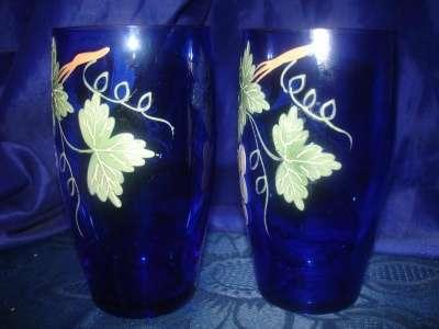 пара старинных стаканов с ручной роспись в Санкт-Петербурге Фото 4
