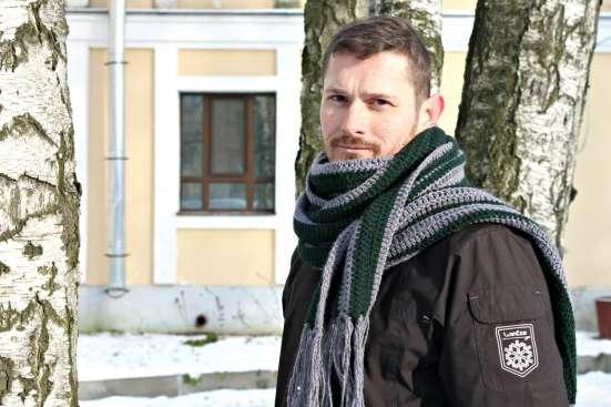 Мужской длинный шарф в стиле casual (кэжуал) в Санкт-Петербурге Фото 2