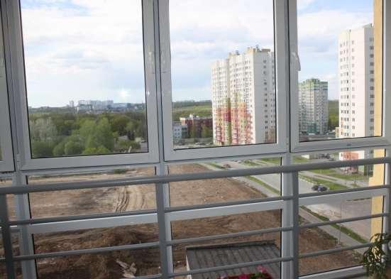 Окна с лоджии витраж от пола до потолка