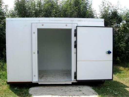 Холодильные камеры из сендвич панелей.Доставка,сборка,гарантия.