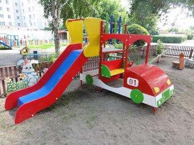Качели, карусели, песочницы доставка по всей России