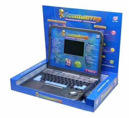 Обучающий детский компьютер Play Smart, 2 языка