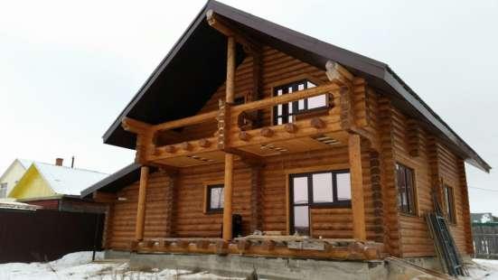 Производство срубов и домов из оцилиндрованного бревна в г. Самара Фото 3