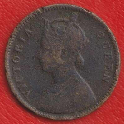 Индия Британская 1/4 анны 1862 г в Орле Фото 1