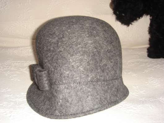 Новая фетровая шляпка