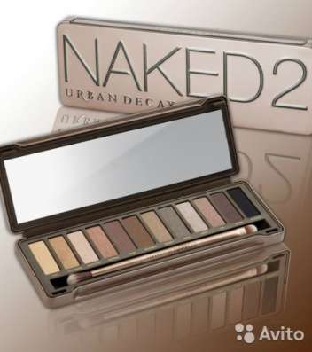 Палетка теней Urban Decay Naked 2