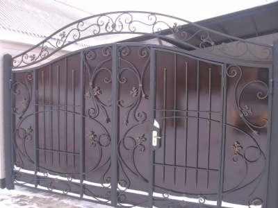 Ворота, заборы, оконные решетки